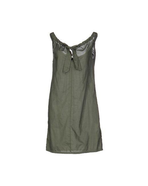 Ekle' | Женское Зелёное Короткое Платье