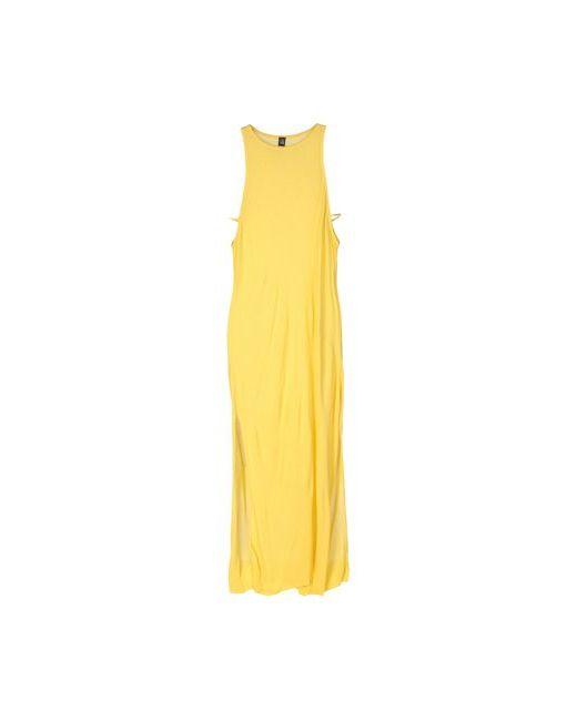 Cheap Monday | Женское Жёлтое Длинное Платье
