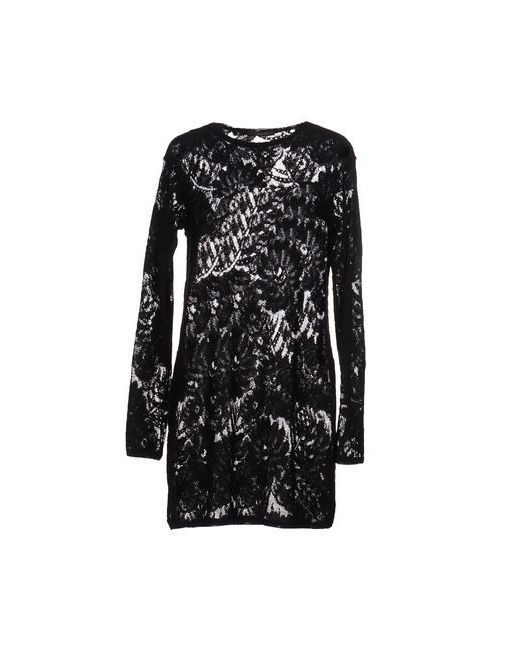 Gwhite | Женское Чёрное Короткое Платье