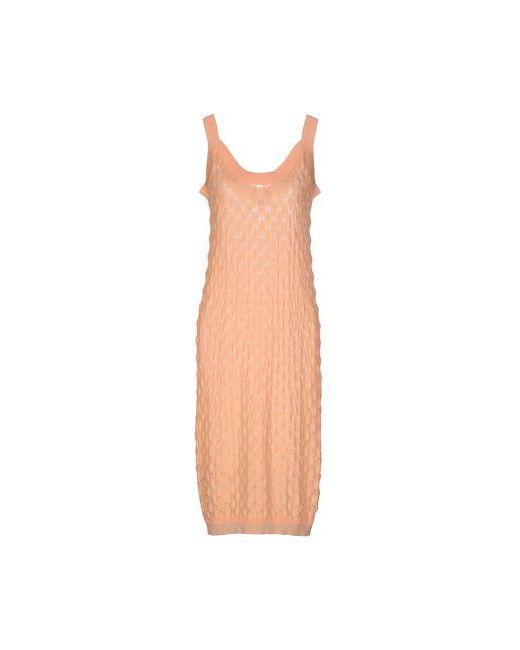 WEILI ZHENG | Женское Розовое Платье До Колена