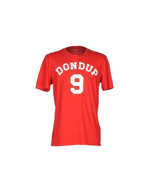 Dondup | Мужская Красная Футболка