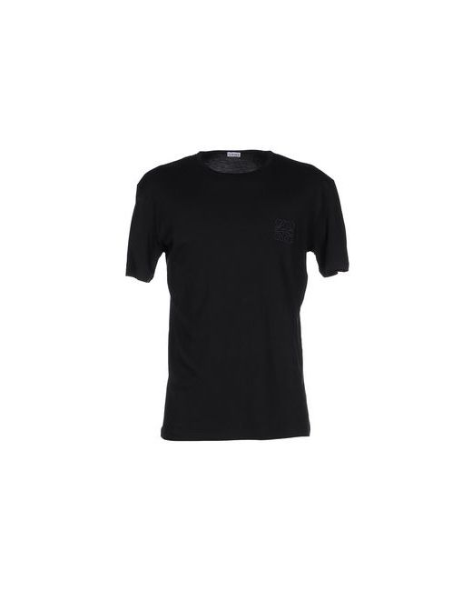 Loewe | Мужская Чёрная Футболка