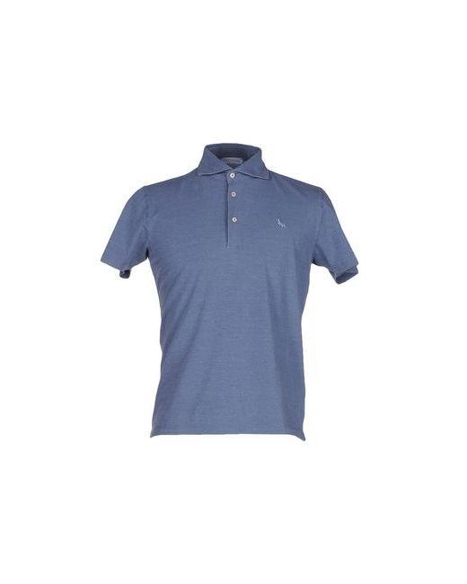 Gran Sasso | Мужское Синее Поло