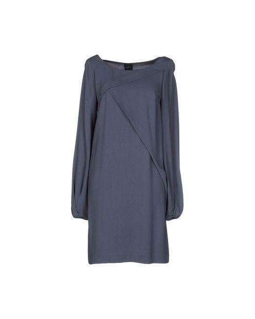 Gotha | Женское Синее Короткое Платье