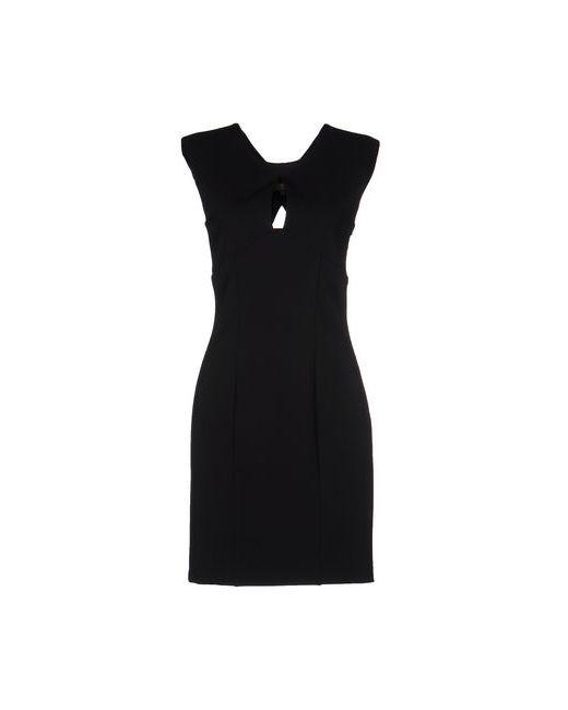 Space Style Concept   Женское Чёрное Короткое Платье