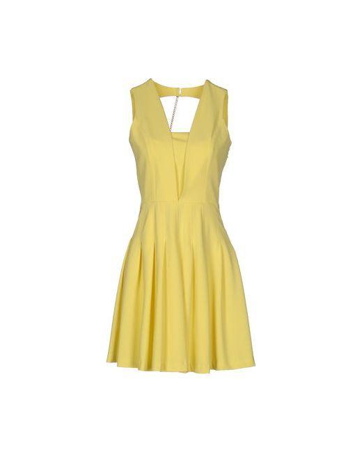 La Kore   Женское Жёлтое Короткое Платье