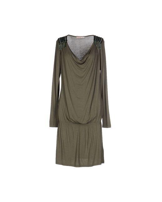 Liu •Jo Jeans   Женское Зелёное Короткое Платье