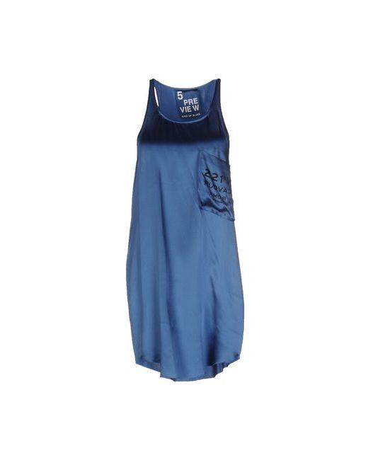 5Preview | Женское Синее Короткое Платье