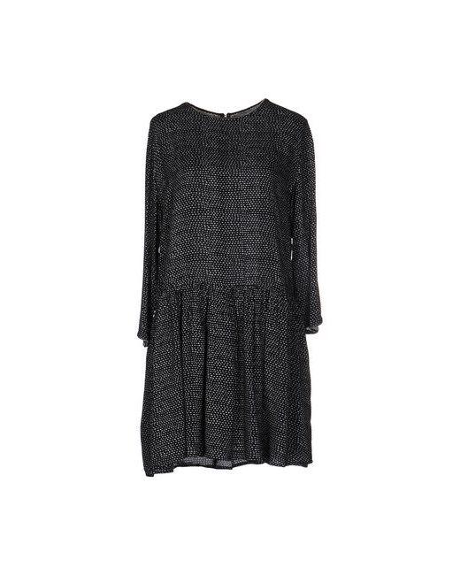 Suncoo | Женское Чёрное Короткое Платье