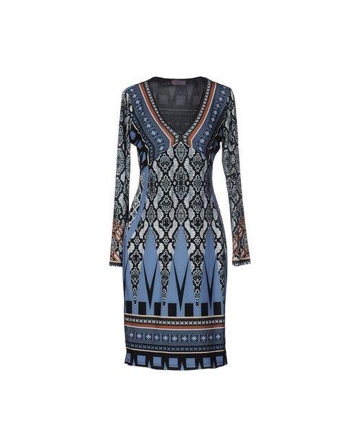 Hale Bob | Женское Синее Короткое Платье