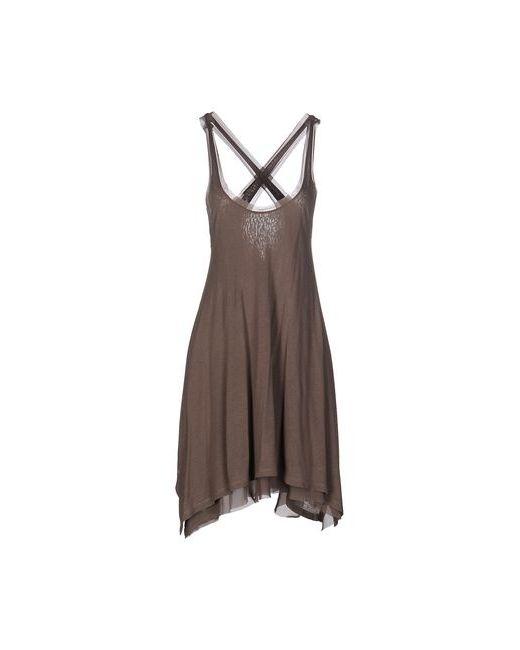 Pinko Black | Женское Серое Короткое Платье