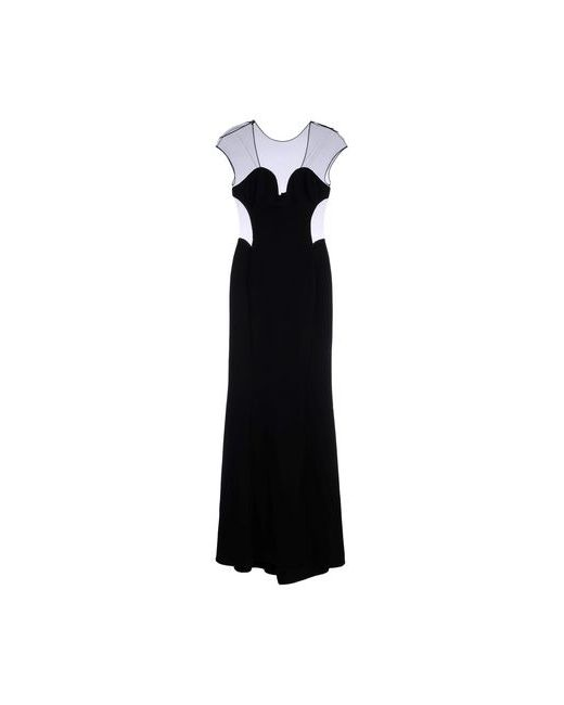 Pinko Black | Женское Чёрное Длинное Платье