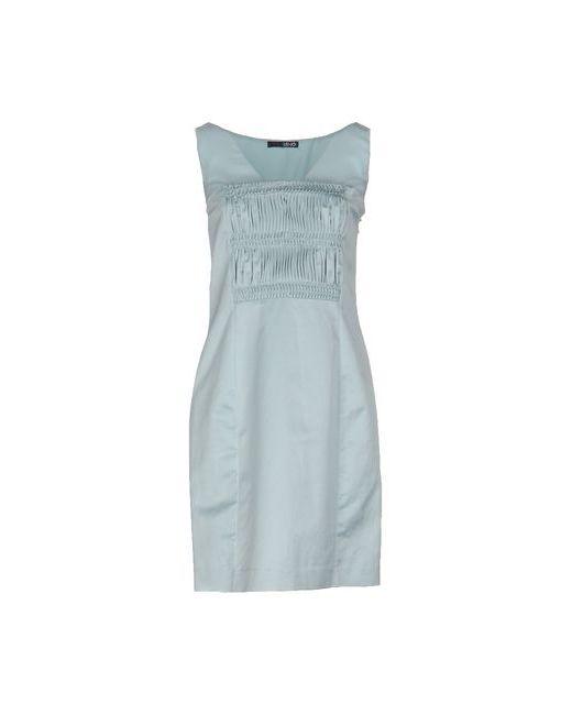 Liu •Jo   Женское Голубое Короткое Платье