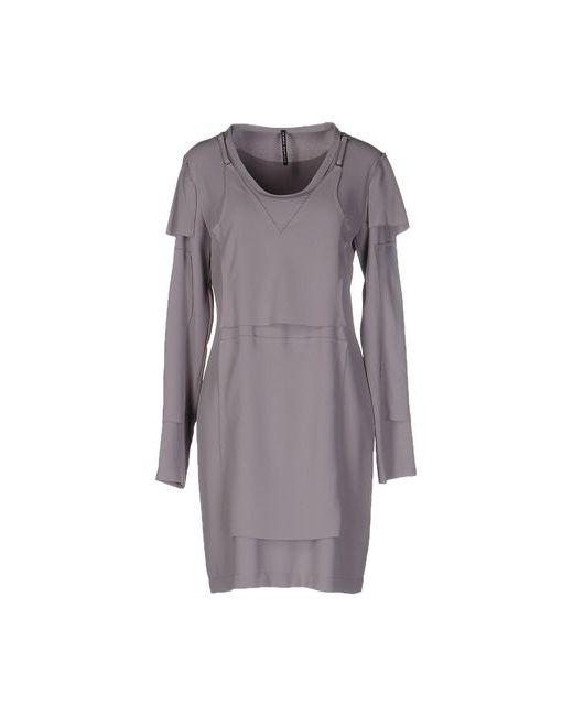 Liviana Conti | Женское Серое Короткое Платье