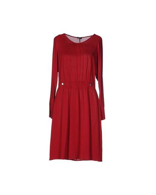 Pf Paola Frani | Женское Красное Короткое Платье