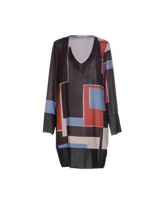 OPERÀ | Женское Голубое Короткое Платье