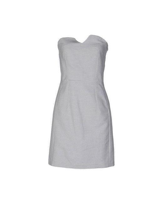 MARGAUX LONNBERG | Женское Белое Короткое Платье