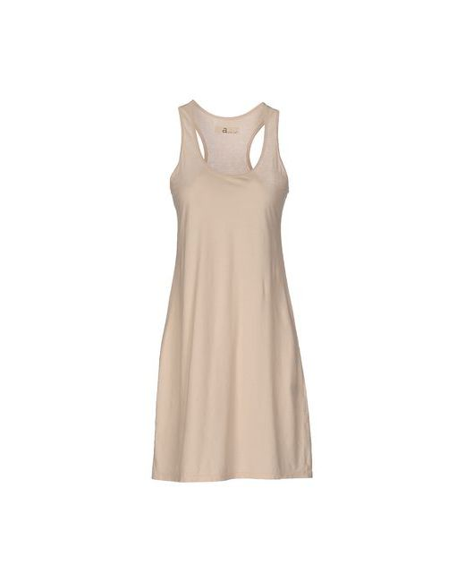 Almeria | Женское Бежевое Короткое Платье