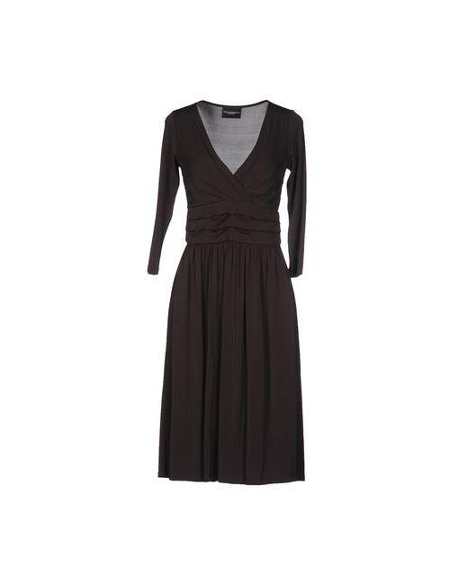 ATOS LOMBARDINI | Женское Коричневое Платье До Колена