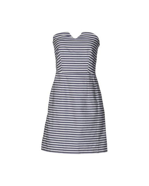 MARGAUX LONNBERG | Женское Синее Короткое Платье