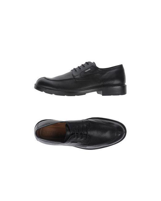 Geox | Женская Чёрная Обувь На Шнурках