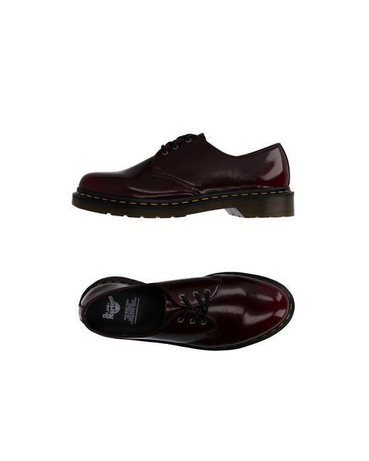 Dr. Martens | Женская Коричневая Обувь На Шнурках