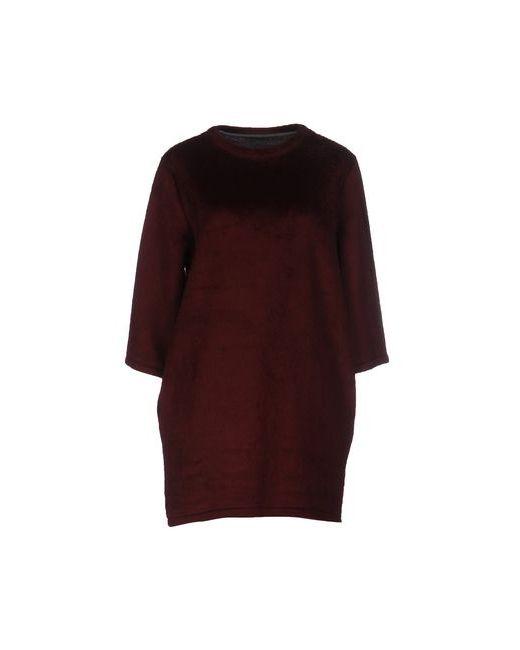 Maison Colette | Женское Баклажанное Короткое Платье