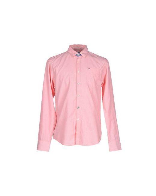 Tommy Hilfiger Denim | Женская Розовая Pубашка