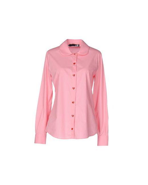 Love Moschino | Женская Розовая Pубашка