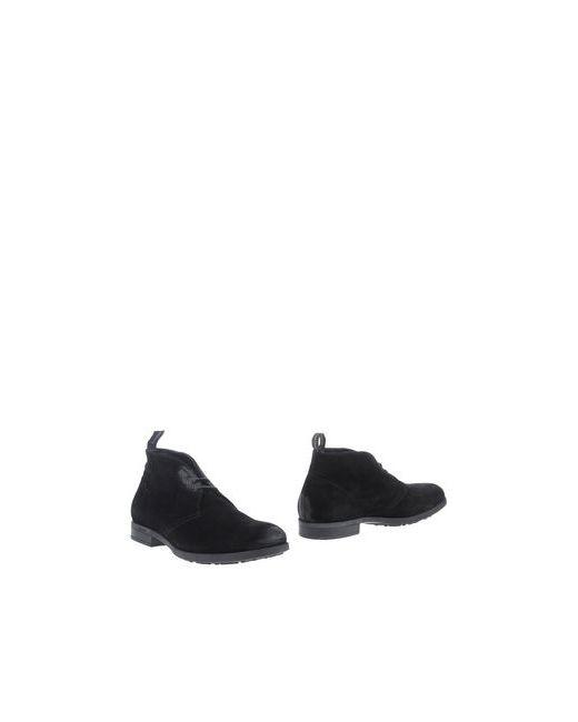 Guardiani Drive | Мужские Чёрные Полусапоги И Высокие Ботинки