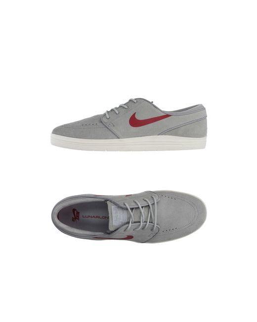 Nike | Женские Серые Низкие Кеды И Кроссовки