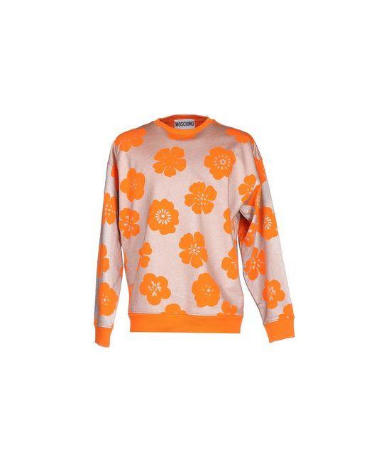 Moschino Couture | Женская Оранжевая Толстовка