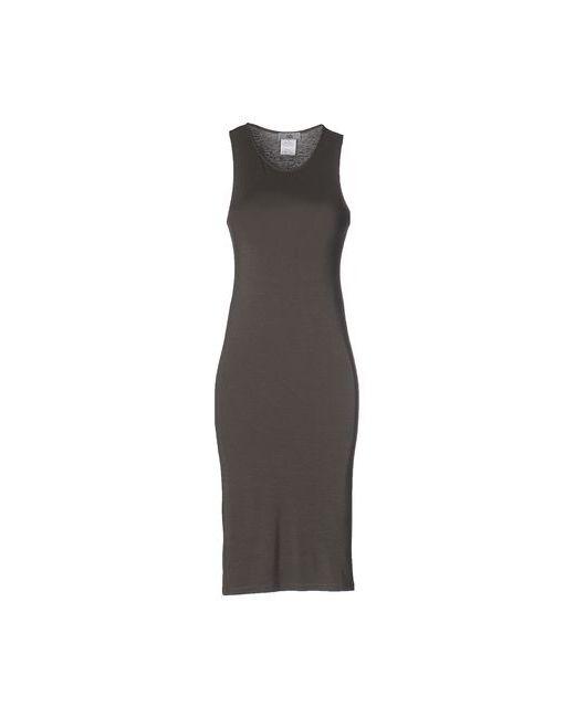 Ixos | Женское Серое Платье До Колена