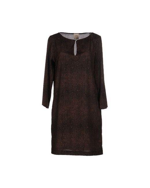 Attic And Barn | Женское Какао Короткое Платье