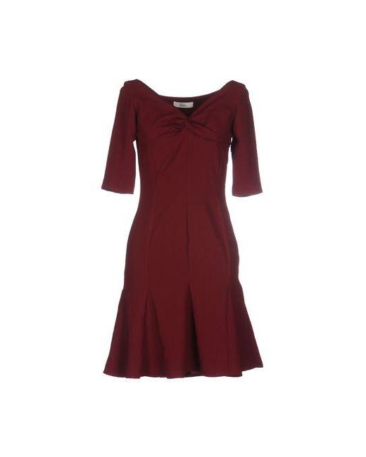 Suoli | Женское Коричневое Короткое Платье