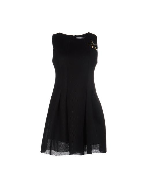 VICTORIA & STELLA | Женское Чёрное Короткое Платье