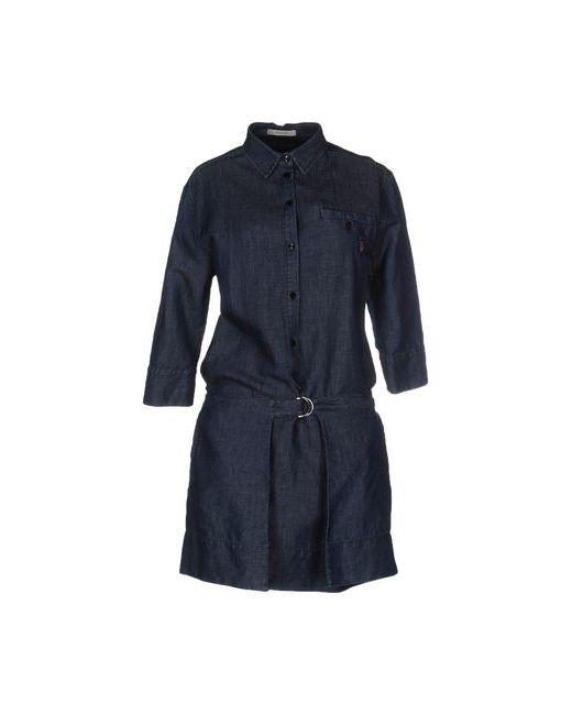 Siviglia   Женское Синее Короткое Платье