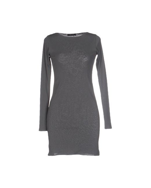 Gwhite | Женское Серое Короткое Платье
