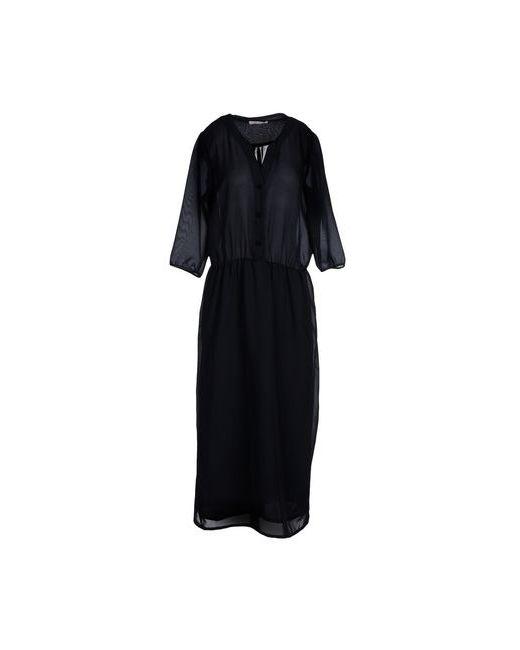 Soho De Luxe | Женское Синее Платье Длиной 3/4