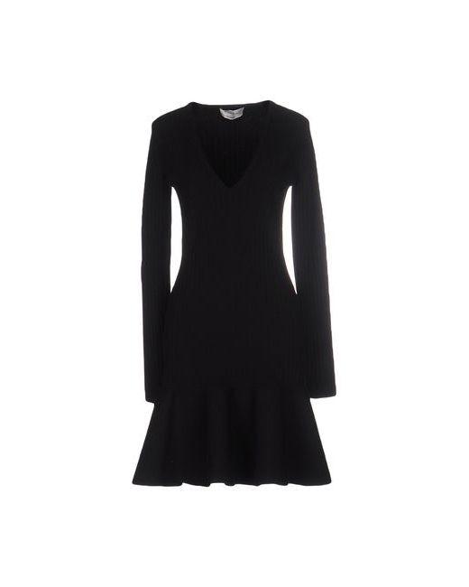 Saint Laurent | Женское Чёрное Короткое Платье