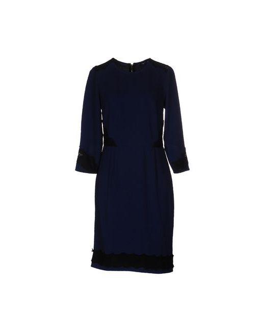 MORGAN DE TOI   Женское Синее Короткое Платье