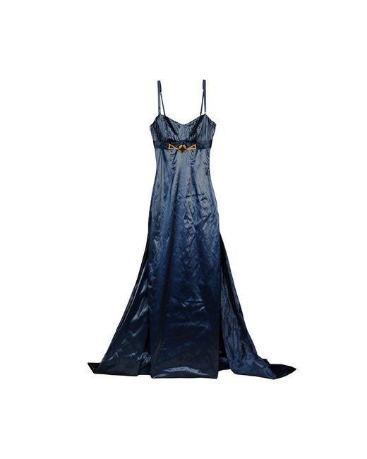 X'S COUTURE MILANO | Женское Синее Длинное Платье