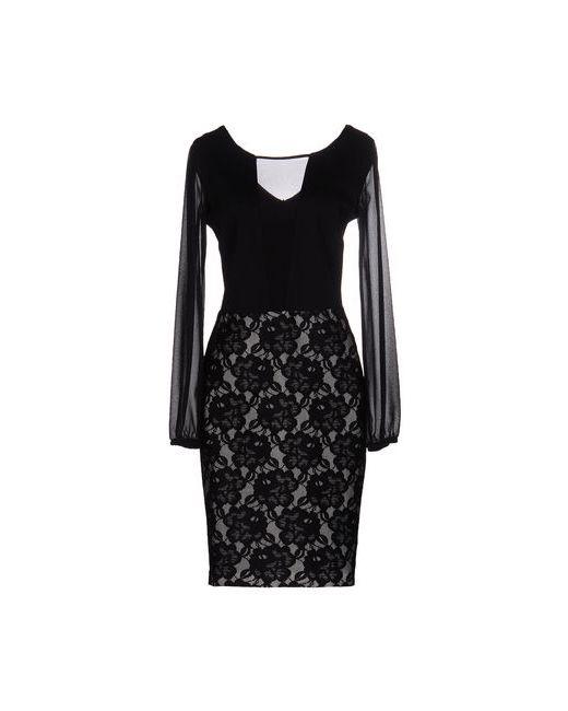 VITTORIAGIRL BY VITTORIA ROMANO® | Женское Чёрное Платье До Колена