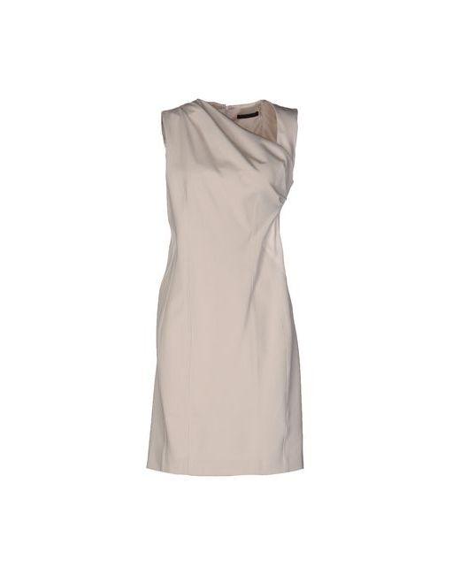 Pinko Black | Женское Бежевое Короткое Платье