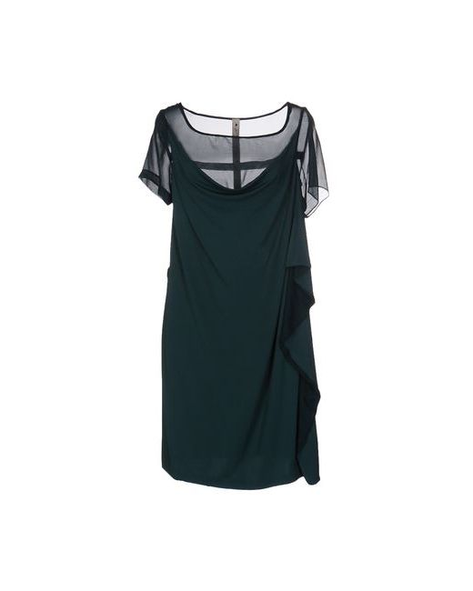 Le Coeur De Twin-Set Simona Barbieri   Женское Зелёное Короткое Платье