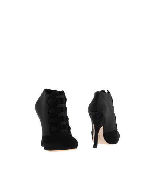 Dolce & Gabbana | Женские Чёрные Ботинки