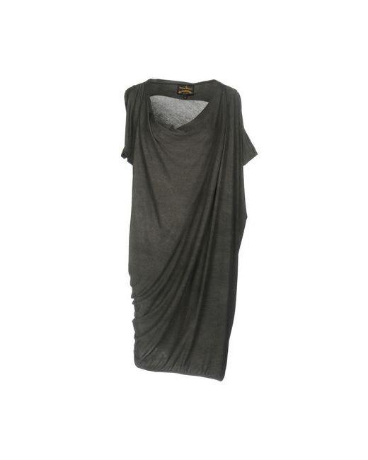 Vivienne Westwood Anglomania   Женское Серое Короткое Платье