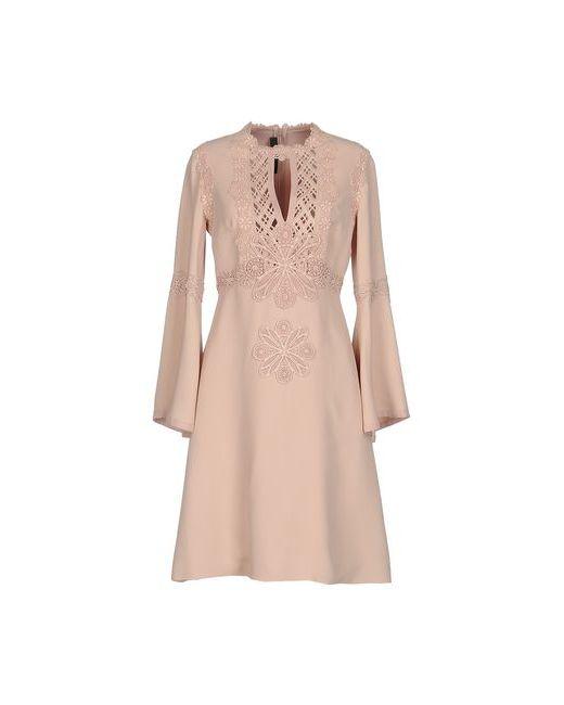 Elie Saab | Женское Розовое Короткое Платье
