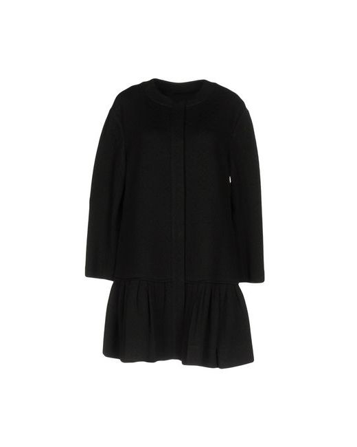 Diane Von Furstenberg | Женское Чёрное Легкое Пальто