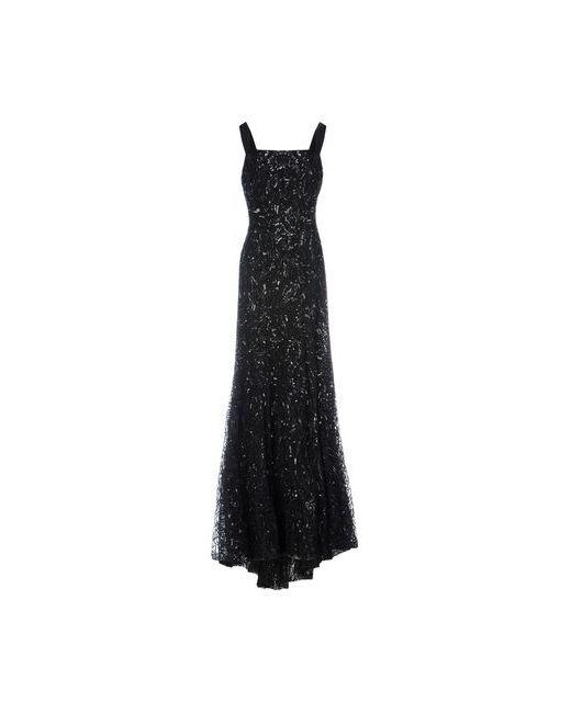 Elie Saab   Женское Чёрное Длинное Платье